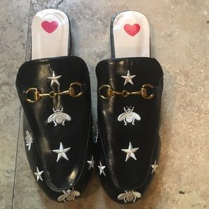 Shoes - Leather mule flats